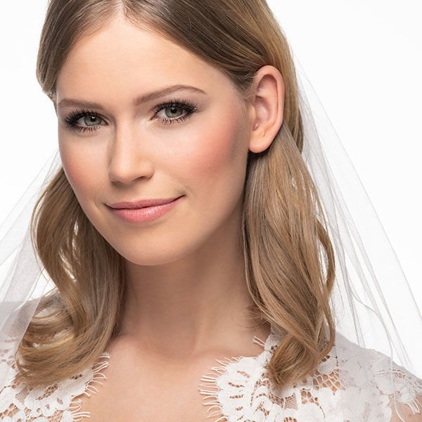 Finale Look zum Braut Make-up Schminktipp