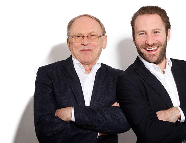 Helmut und Matthias Baurecht
