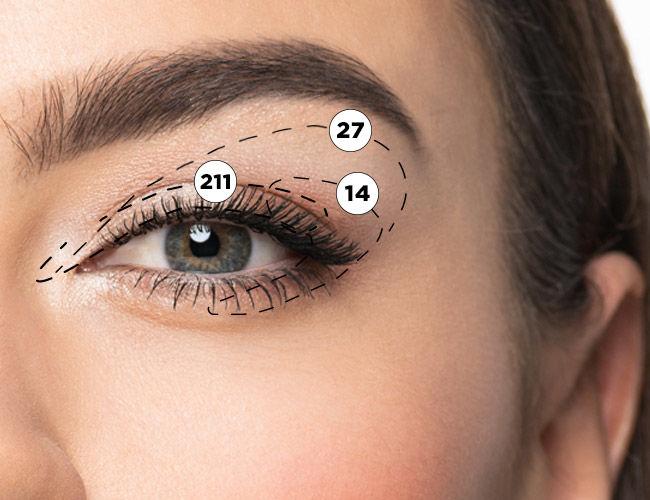 Augen blond make up blaue Farbtyp (147