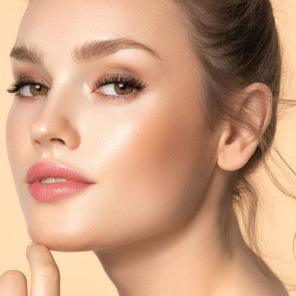End look for bronzing makeup tips