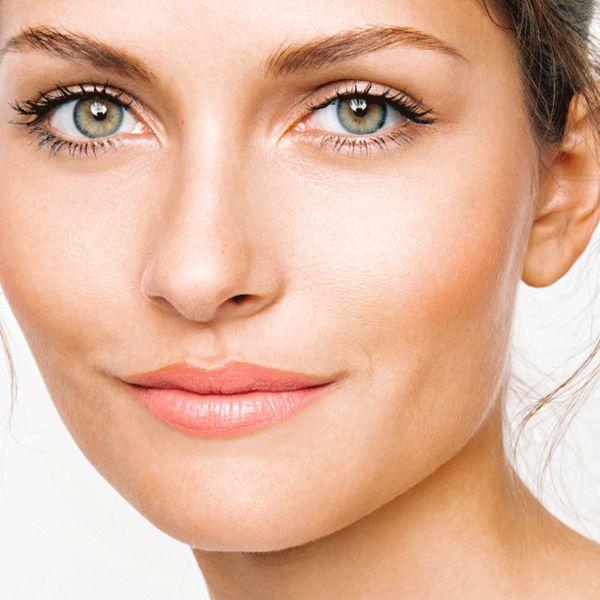 End-Look des Tages Make-up