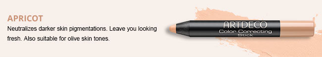 Color Correcting Stick in Apricot