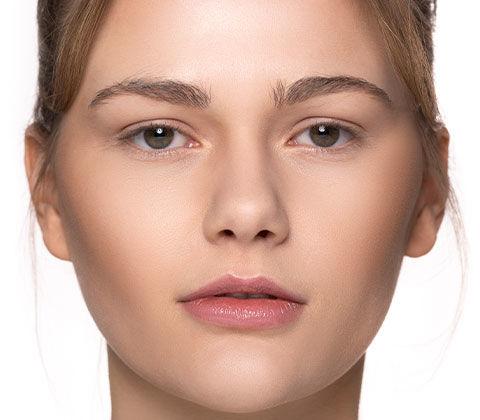 Vorher und Nachher-Effekt beim Schminktipp Schlupflider schminken