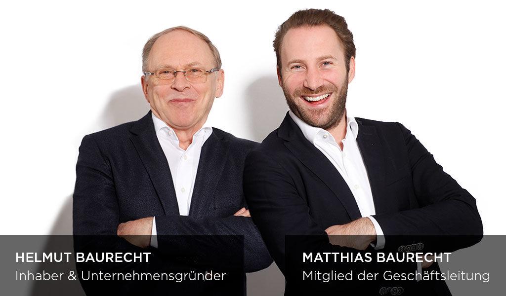 ARTDECO Karriere | Geschäftsführer Helmut Baurecht und Matthias Baurecht