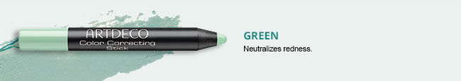 Color Correcting Stick in Green