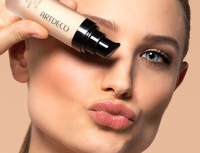 Click here for the makeup tip Even skin tone by ARTDECO